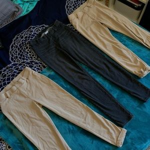 Girls Jegging Bundle 3 Pairs